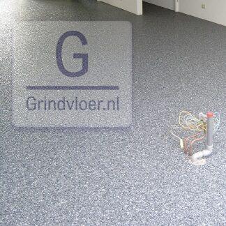 marmerkorrelvloer grijs